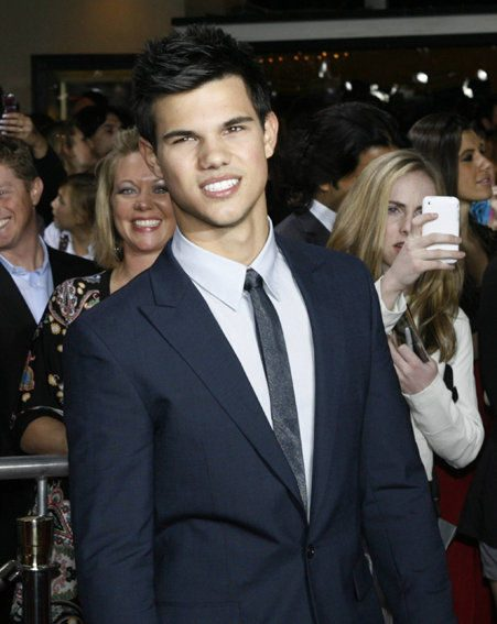 Taylor Lautner, who plays Jacob, has a bigger role than Robert Pattinson