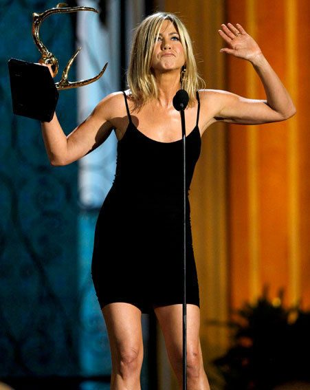Jennifer Aniston has been awarded for her general hotness
