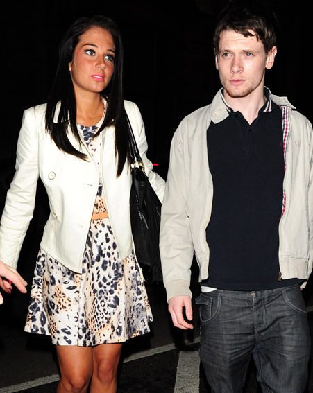 Tulisa with friend and Skins star Jack O'Connell