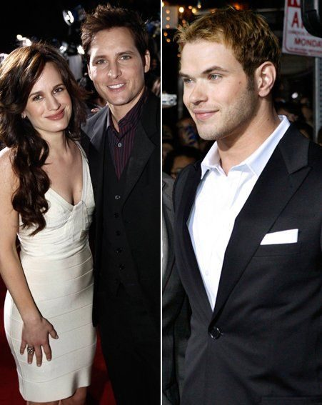 Elizabeth Reaser and Peter Facinelli / Kellan Lutz