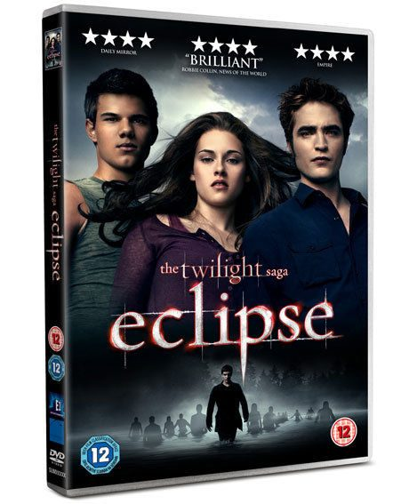 The double disc edition of Eclipse on DVD will have over three hours of extras