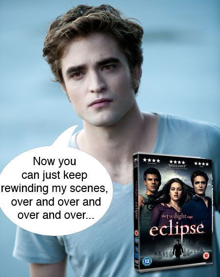 Twilight Saga: Eclipse is released on DVD in the UK on December 6th