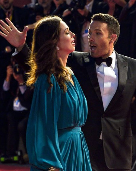 Ben Affleck continued to clown around with Rebecca Hall at Venice Film Festival