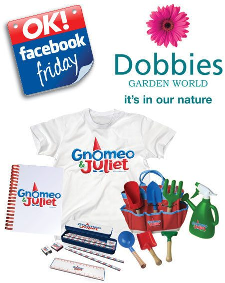 Facebook Friday: We gave away £500 of Dobbies vouchers and Gnomeo & Juliet merchandise