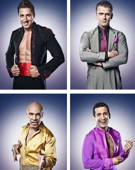 Strictly Come Dancing: Gavin Henson, Scott Maslen, Goldie and Jimi Mistry