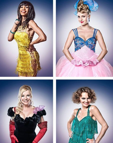 Strictly Come Dancing: Michelle Williams, Tina O'Brien, Pamela Stephenson and Kara Tointon