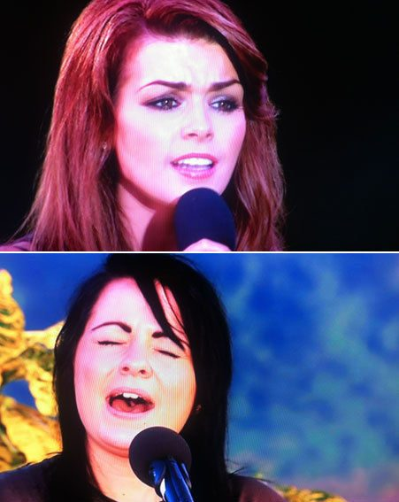 The X Factor 2012: Carolynne Poole and Lucy Spraggan fought for survival tonight