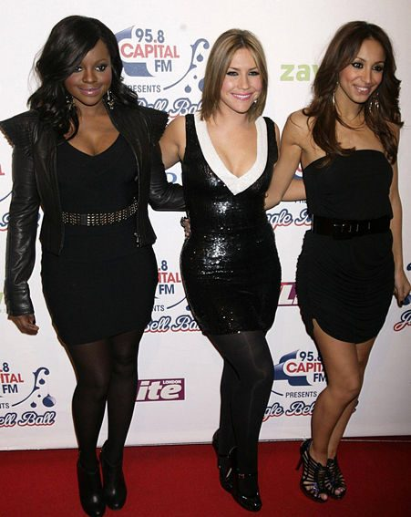 The Sugababes turn heads in little black dresses