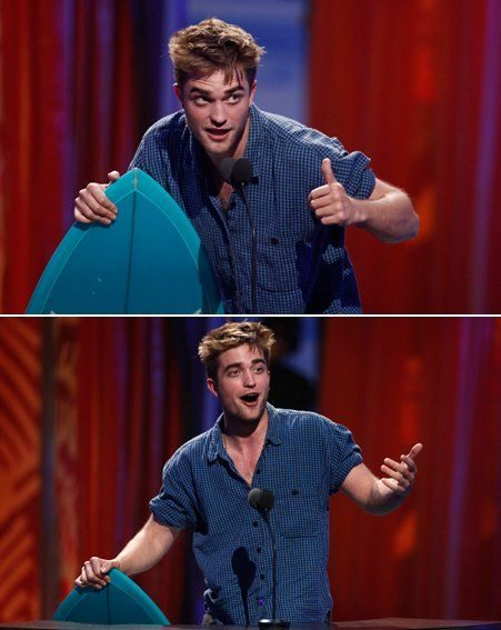 Teen Choice Awards 2010: Robert Pattinson picked up two awards for him and Kristen Stewart
