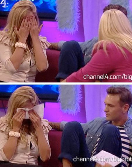 Ultimate Big Brother: Chantelle got all emotional about their divorce