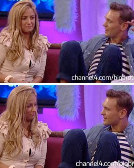 Ultimate Big Brother: Chantelle and Preston were interview by Vanessa on a mock chat show