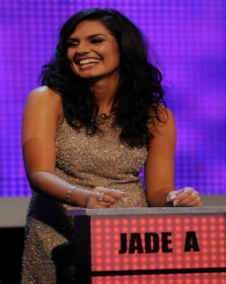 Jade A was a bit shocked to see an old flame hit the Take Me Out stage