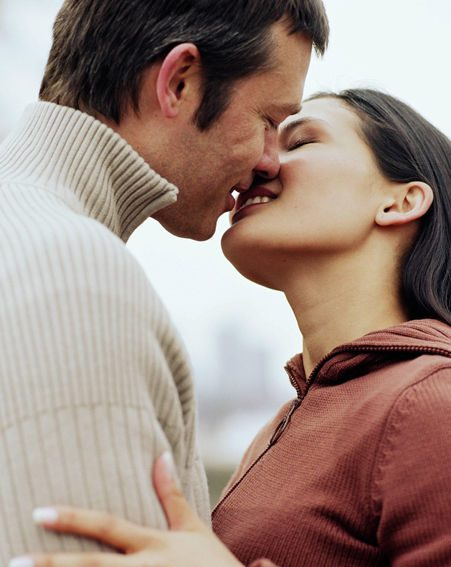 People in China have been warned of the dangers of kissing