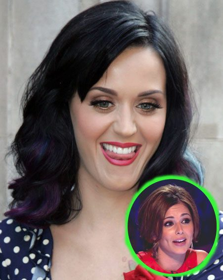 Katy Perry has talked about how much she admires Cheryl Cole