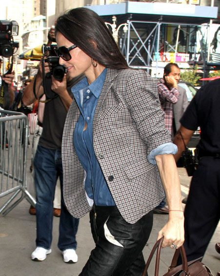 Demi Moore has checked out of rehab