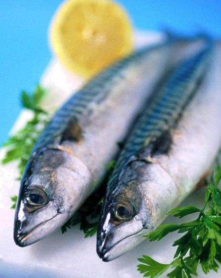 Eat plenty of fresh fruit and vegetables and oily fish