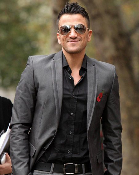 Peter Andre has won