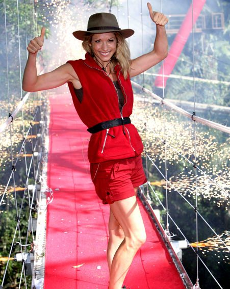 Dani Behr was second to be evicted from the jungle camp