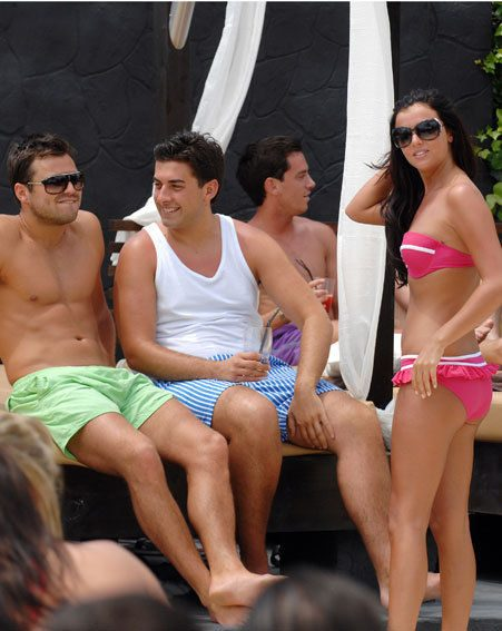 The TOWIE lot are currently living it up in Marbs