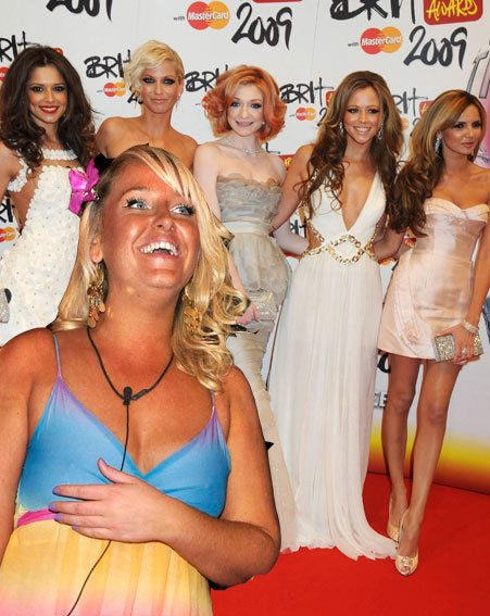 Kimberley Walsh says Josie would fit in with the Girls Aloud girls