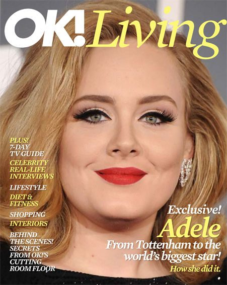 Pick up our fabulous new glossy mag OK! Living