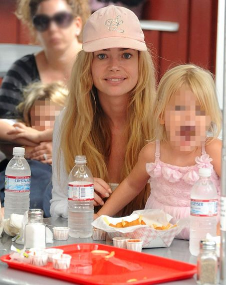 Denise Richards makes sure her whole family drinks plenty of water