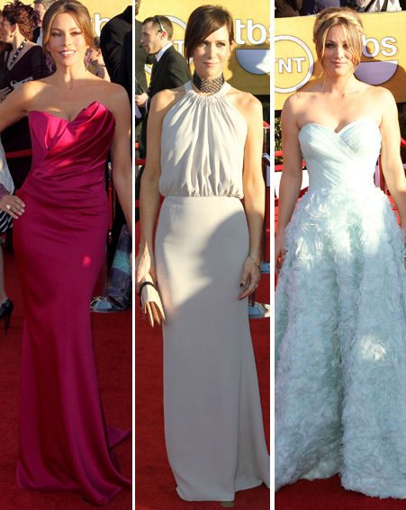 SAG Awards: Sofia Vergara, Kristen Wiig and Kaley Cuoco were HITS on the red-carpet