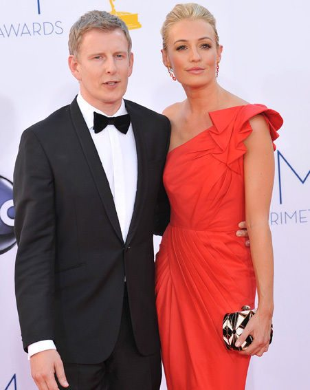 Cat Deeley and Patrick Kielty looked smitten as they hit the red carpet together in LA