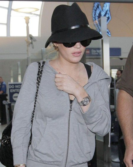 Lindsay was left shaken by the incident in Morocco (Pics: wenn.com)