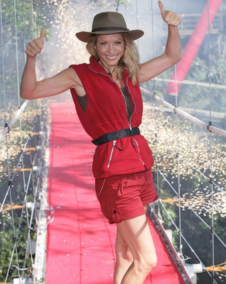 Dani Behr was the second celebrity to be evicted from camp