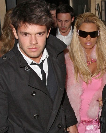 Katie Price and Leandro were involved in a car crash last night