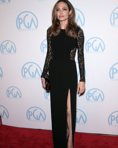 Angelina Jolie at the 23rd Annual Producers Guild Awards