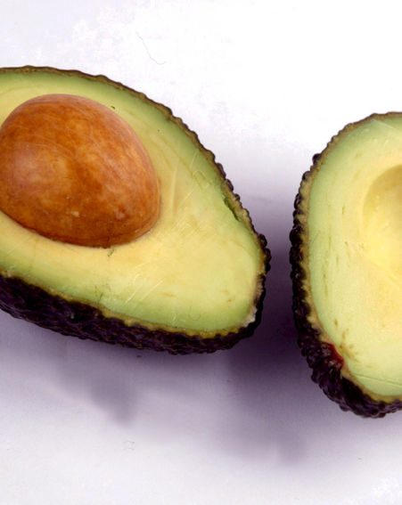 Avocados contain fatty acids and can help ease a dry, flaky scalp
