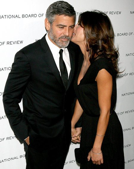 George Clooney with Elisabetta Canalis / wenn.com