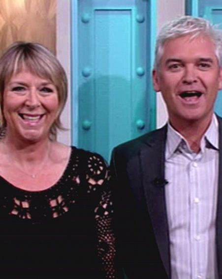 Fern co-hosts the breakfast show with Philip Schofield