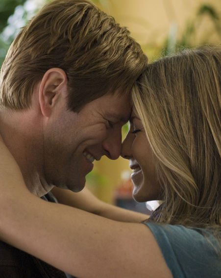 Burke (Eckhart) finds comfort in Eloise (Aniston)