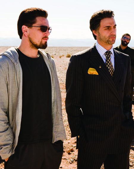 Roger (DiCaprio) takes his orders from Ed (Crowe)