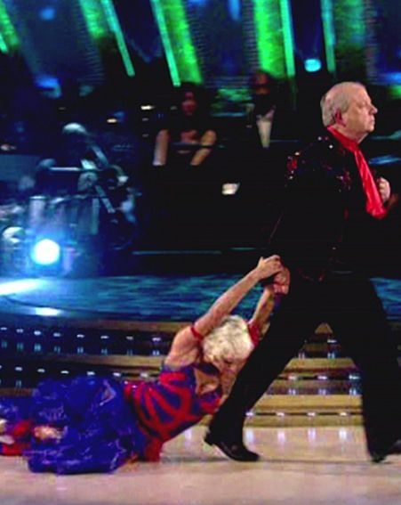 John's dancing came under attack from the judges' but provided entertainment for viewers