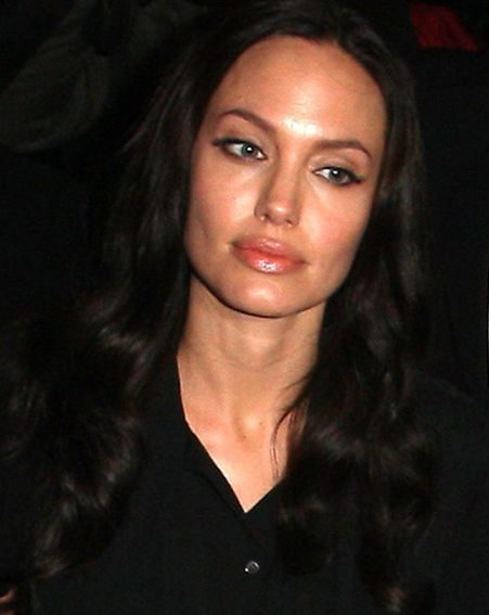 Angelina struggled to hold back the tears while promoting her new film