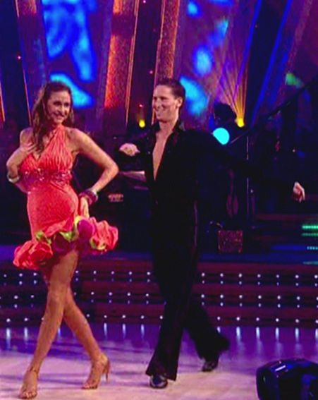 Lisa Snowdon and Brendan Cole won the dance off against Cherie and James