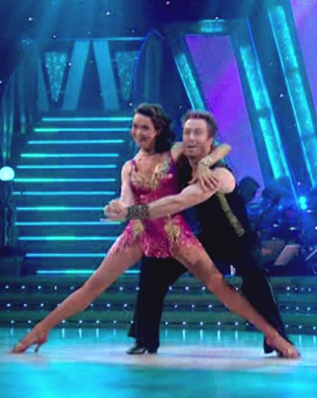Cherie's cha-cha-cha was described as 'magnificent' by judge Craig