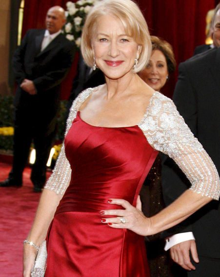Dame Helen Mirren claims she looks c**p
