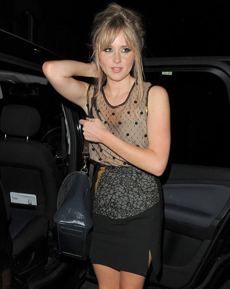 Diana Vickers played the iTunes festival last night in London (Pics: wenn.com)