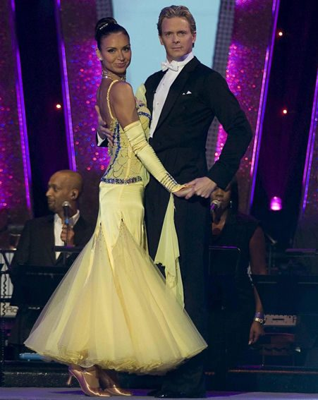 Christine Bleakley and Matthew Cutler in Strictly Come Dancing