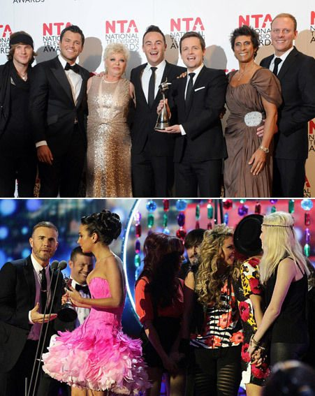 NTAs 2012 winners included X Factor, I'm A Celebrity and Coronation Street
