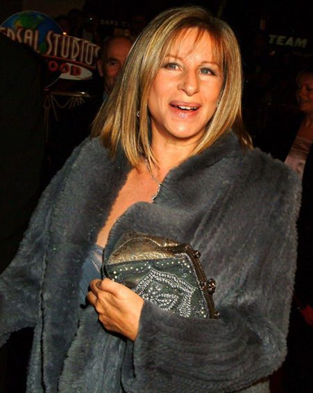 Barbra Streisand was interviewed by chat show host Jonathan Ross (Pics: Wenn.com)