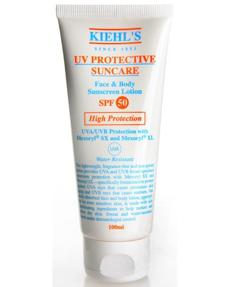 Kiehl?s UV Protective Suncare Face and Body Sunscreen Lotion SPF50, £17.50