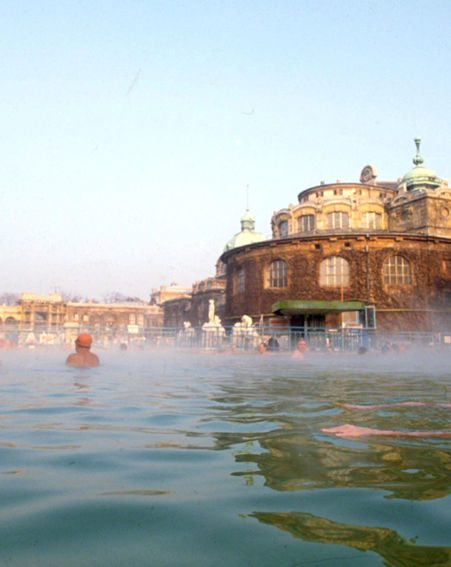 Budapest is famous for its natural spas