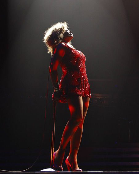 The performance included all of her classics, including Private Dancer