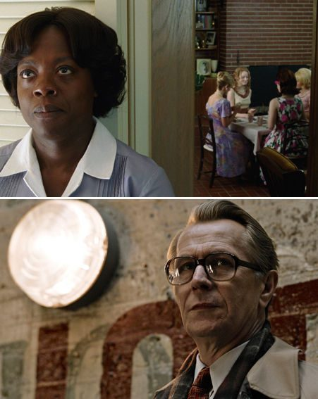 Oscars 2012: The Help and Tinker Tailor Soldier Spy have also received nods